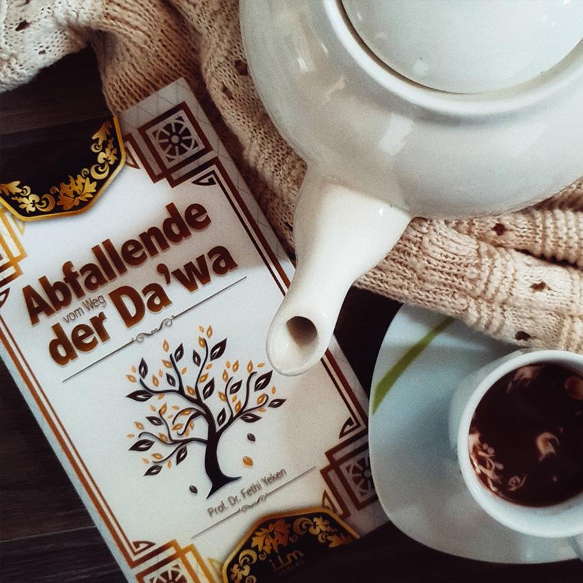 Abfallende vom Weg der Dawa